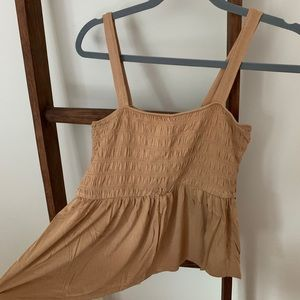 AMERICAN EAGLE RUCHED TANK TOP
